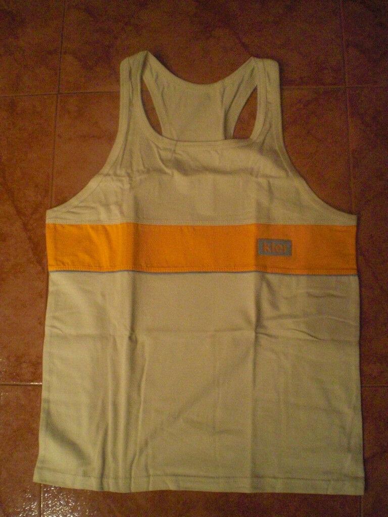 T-shirt man straps KLER size L NEW shirt man