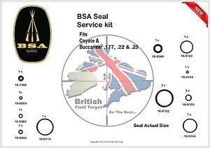 Full-Premium-Seal-Service-kit-Fits-BSA-Coyote-amp-Buccaneer-0-177-0-22-amp-0-25