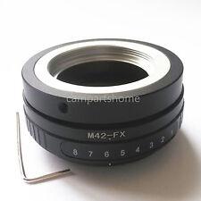 Tilt M42 Screw Lens To Fujifilm Fuji FX X-PRO1 adapter E1 E2 A1 T1 M1 T10 X-PRO2