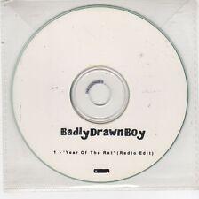 (GJ599) Badly Drawn Boy, Year of the Rat - DJ CD