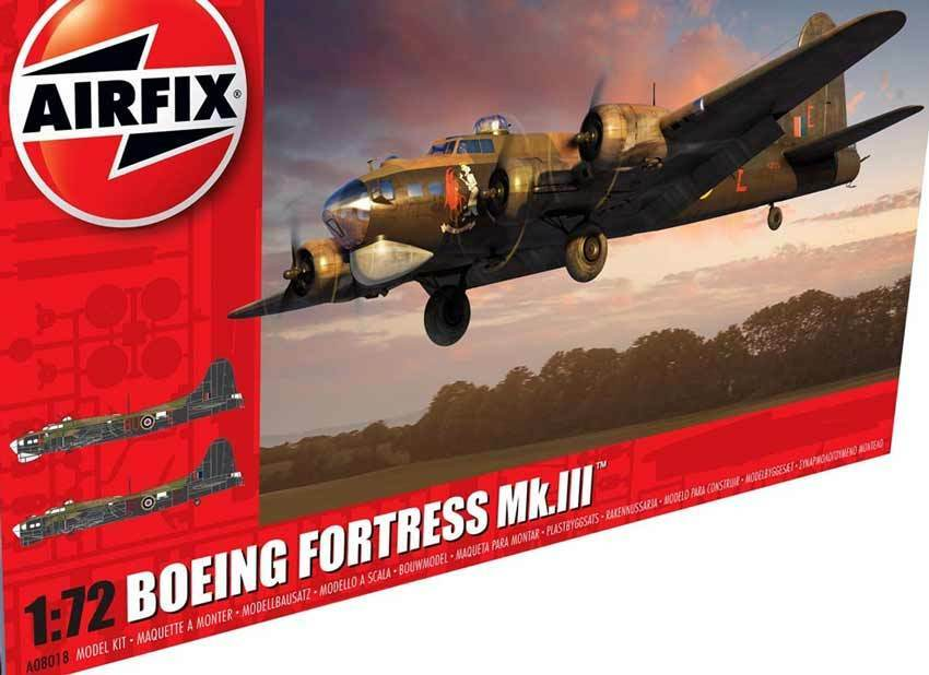 Airfix - Boeing Boeing Boeing b-17 Fortress mk.iii Royal Air Force BOMBERO 1 72 634be8