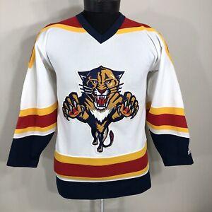 new product 240c1 b063c VTG Florida Panthers Jersey Sewn CCM 90s NHL Hockey Team ...