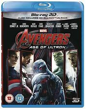 THE AVENGERS: AGE OF ULTRON [Blu-ray 3D + 2D] 2-Disc Set Marvel Movie Iron Man