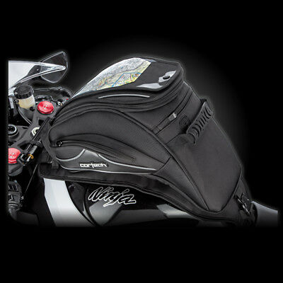 Cortech Super 2.0 18 Liter MotorcycleSportbike Sloped Tank Bag Strap Mount
