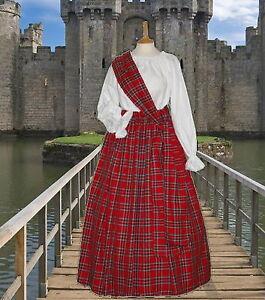 Ladies-Victorian-Scottish-Royal-Stewart-3pc-costume-fancy-dress-6-32