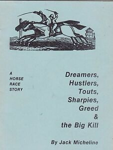 BEAT-POET-JACK-MICHELINE-DREAMERS-HUSTLER-HORSE-RACE-STORY-1981-SIGNED-BY-JACK