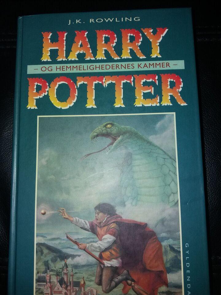 harry potter og hemmelighedernes kammer bog