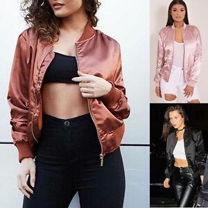 2017-New-Woman-Fashion-Short-Bomber-Jacket-Casual-Thin-Zip-up-Baseball-Outerwear