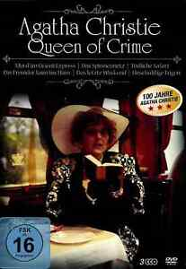 Agatha Christie | Queen of Crime | 6 Filme | Mord im Orient-Express [FSK16] DVD