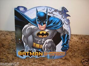 BATMAN Board Book Guardian of the Night NEW