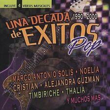 VARIOUS ARTISTS - UNA DECADA DE EXITOS: POP (NEW CD)