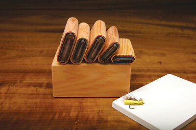 DELUXE HOPPER ANT CADDIS BODY  5 CUTTER SET  Fly Tying with Wood Caddy