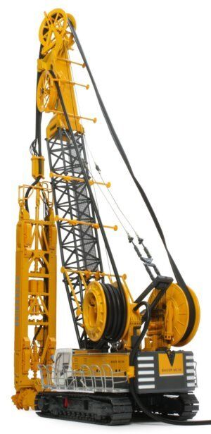 BYMO 25027 1 BAUER Cable Crane MC96 with Trench Cutter BC35 and HDS-T Scale 1 50