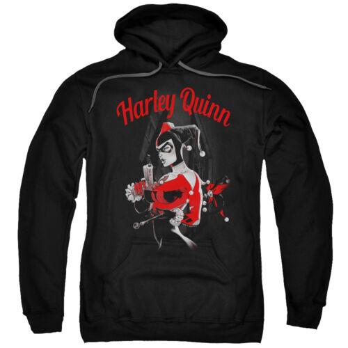 Harley Gun Batman Hooded Sweatshirt Licensed Quinn Crewneck And 6xl Adult Sm PqxdRw76xC
