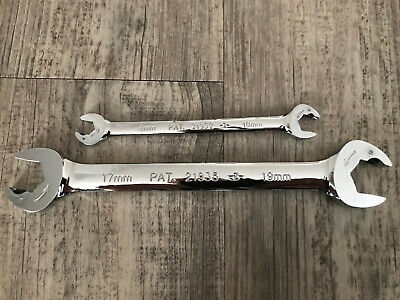 Gear 6pc Metric Ratcheting Combination and Stubby Open End Wrench Set USPS