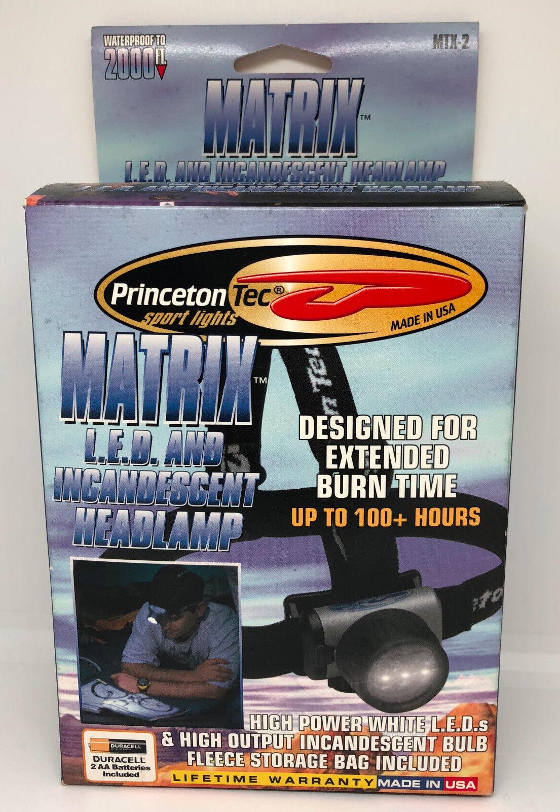 Matrix LED  and Incandescent Headlamp - NEW  sale online