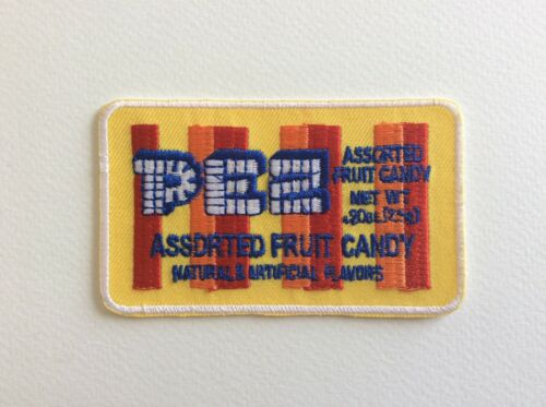 9*5.5 CM PEZ FRUIT CANDY A228 //// ECUSSON PATCH AUFNAHER TOPPA NEUF