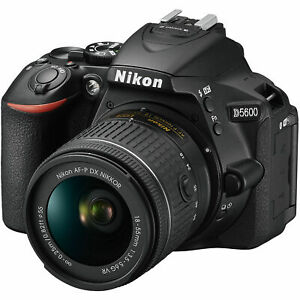 La marca nuevo Genuine Nikon D5600 + P AF 18-55mm c?mara r?flex Digital ES*3