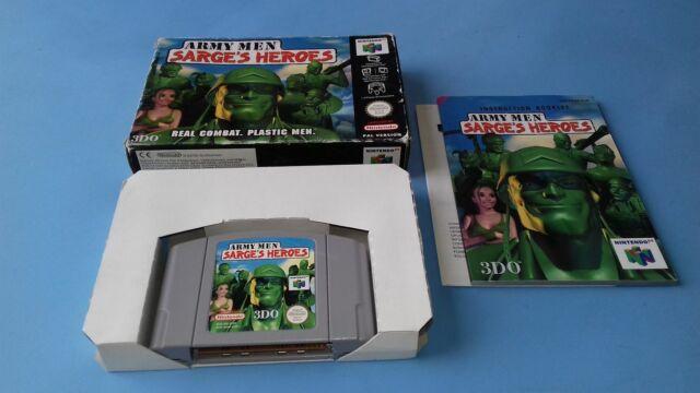Jeu Nintendo 64 N64 Army Men Sarge's Heroes complet