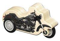 Harley-davidson Wooden Zip Motorcycle - Boys Gift - Kids Toy