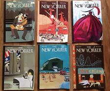 NEW YORKER MAGAZINE 6 Issue Lot 2013 April May June July September GUC