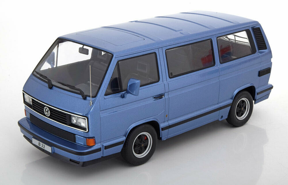 1 18 KK-Scale Porsche B32 based on VW T3 1984 lightBlau-metallic
