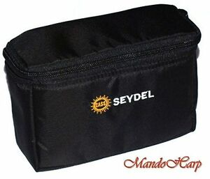 Seydel-Harmonica-Bag-930012-Gigbag-beltbag-for-12-Blues-Harmonicas-NEW