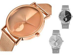 ASAMO-Modische-Damen-und-Herren-mit-Armbanduhr-Metall-Armband-Analog-Uhr-AMA089