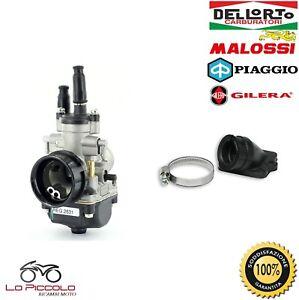 CARBURATORE-DELL-039-ORTO-PHBG-19-DS-COLLETTORE-MALOSSI-PIAGGIO-FREE-50-2T