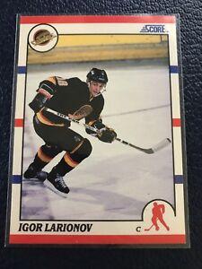 1990-91-Score-American-123-Igor-Larionov-RC-Canucks-HOF-NM-MT