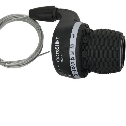 1-8 Speed Right Shift microSHIFT Twist Grip Bike Gear Shifter SHIMANO Shifters