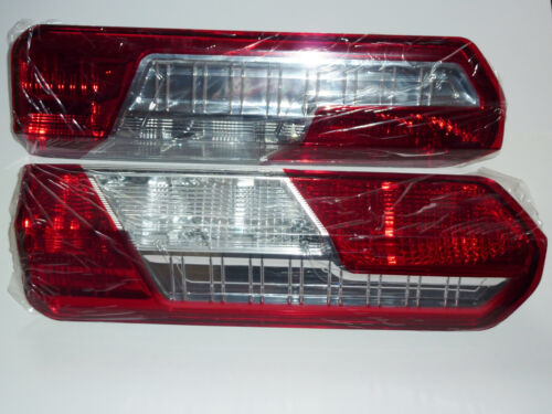 N//s  Rear Tail Light Lamps A Pair New Ford Transit Mk8 2013 on O//s