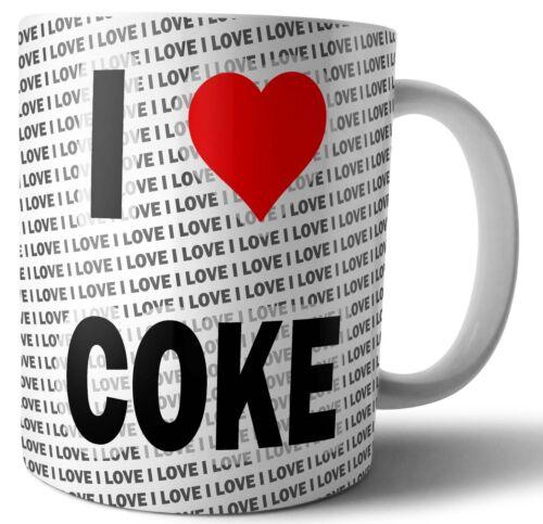 I Love Coke Thé-Café-Mug-Cup Anniversaire-Noël-Cadeau
