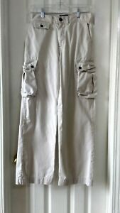 Polo-by-Ralph-Lauren-Boys-Size-14-Beige-Chino-Khakis-Cargo-Pants