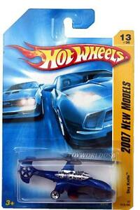 2007-Hot-Wheels-13-New-Models-Sky-Knife-blue