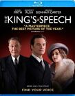 King's Speech 0013132313597 With Colin Firth Blu-ray Region a