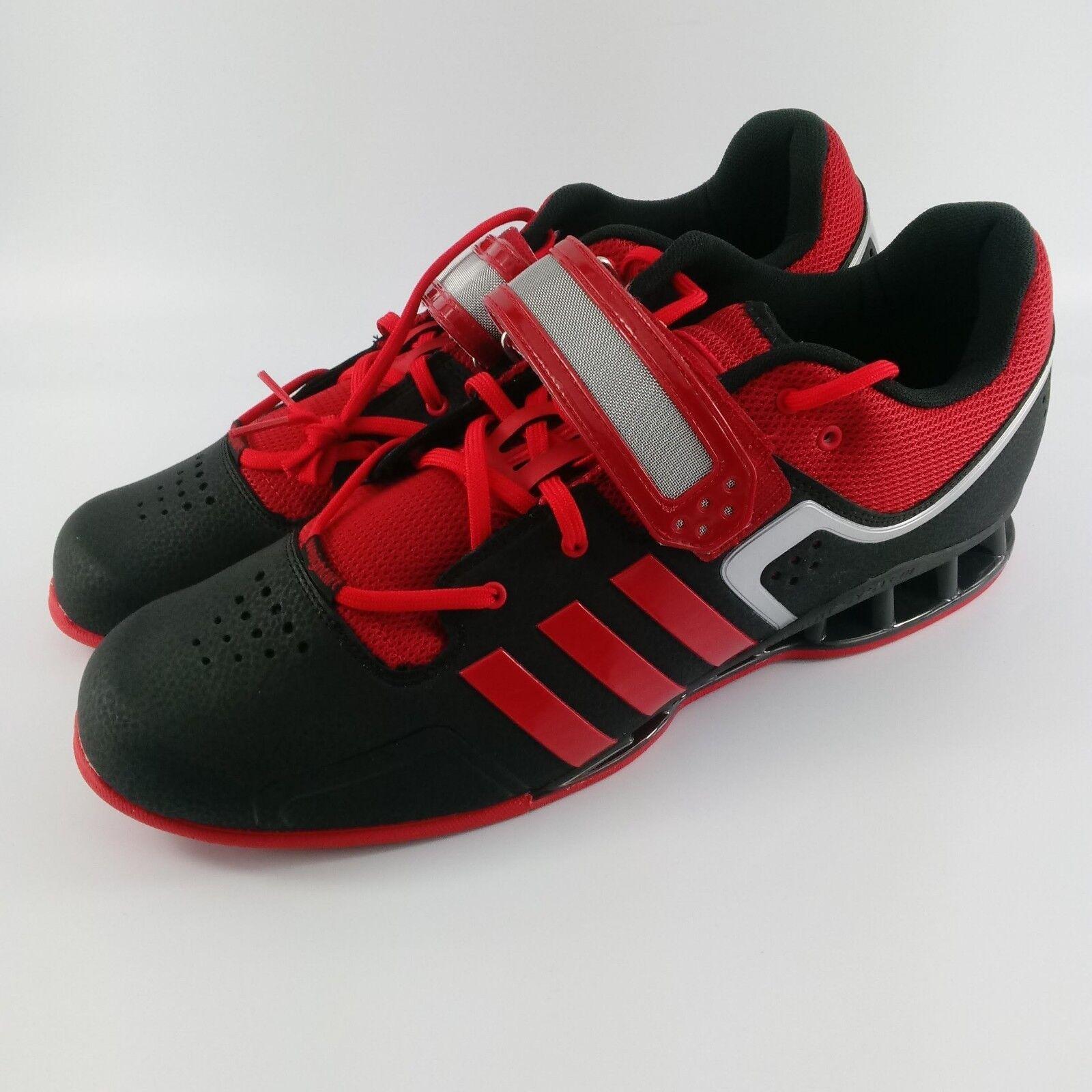 Adidas adipower weighlifting rosso scarpe - nero / rosso weighlifting - m21865 - dimensioni: 15 6e07a8