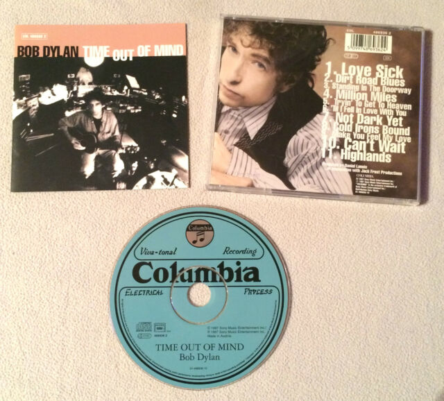 BOB DYLAN - TIME OUT OF MIND / CD ALBUM COLUMBIA 4869362 ( ANNEE 1997 )