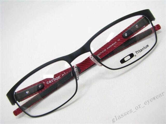 202b0a19509 Eyeglass Frames-Oakley carbon plate OX5079-0155 Matte Black55mm Titanium  Glasses