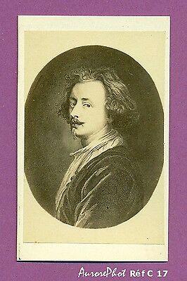 Cdv Antoine Van Dyck Peintre Portraitiste De La Cour D'angleterre Réf C 17