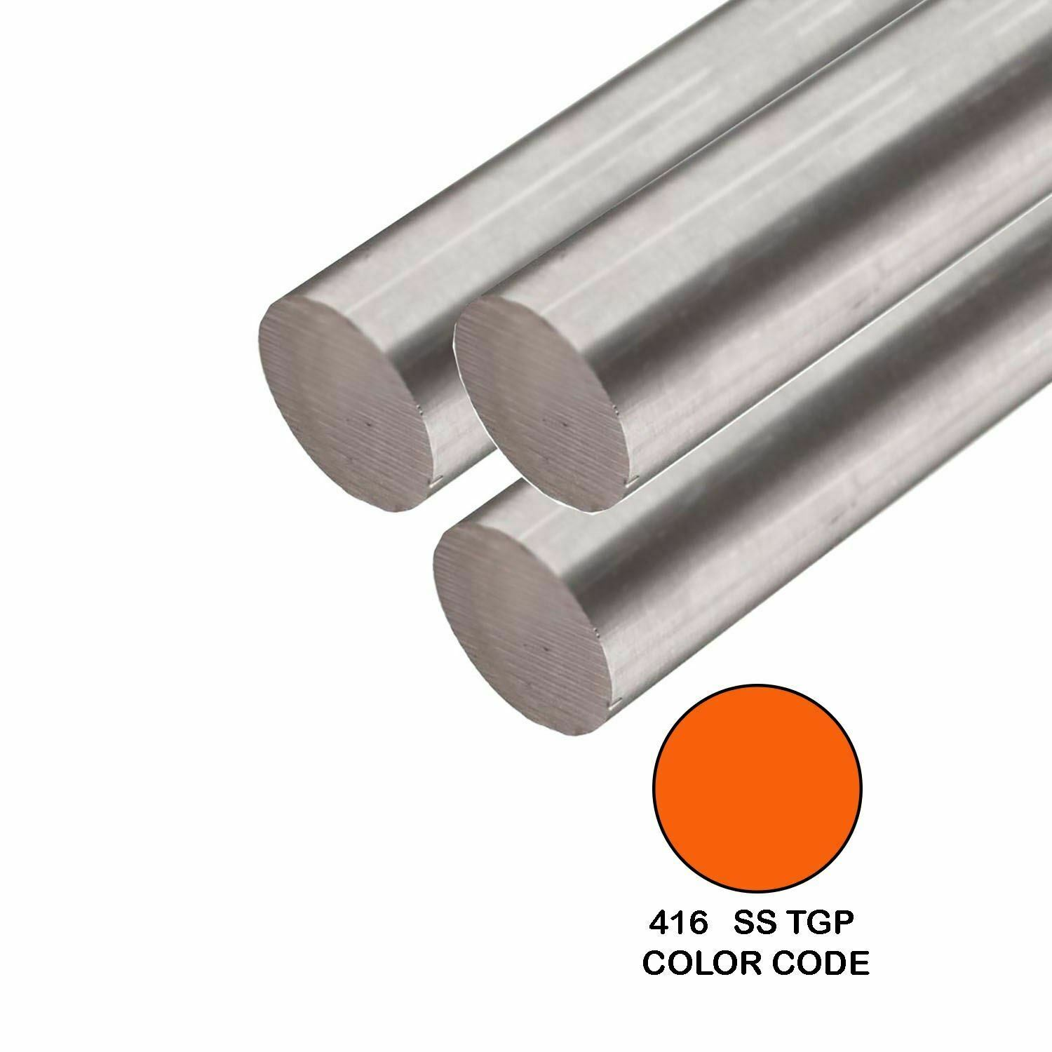 """1 1//4/"""" Stainless Solid Round Bar 24/"""" Long alloy 304"""