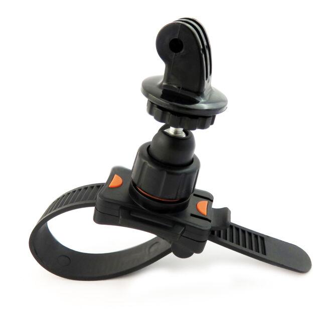 Roll Bar Zip Mount For GoPro Hero 1 2 3 3+ 4 5 Fits Cage Handlebar Seatpost Bike