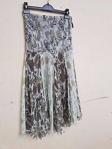 Jupe Coast 10 Print Olive Taille Shadow Ladies € Bnwt Étiquette 90 qIHAUA