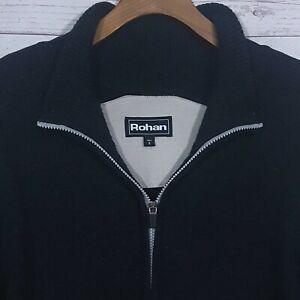Mens-Rohan-Reykjavik-Regular-Fit-Full-Zip-Funnel-Neck-Jumper-Jacket-Size-Small
