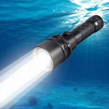 WATERPROOF 2200LM CREE XML L2 LED DIVE DIVING LIGHT FLASHLIGHT LAMP TORCH 100M