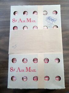 US C65a SEALED BOX OF 50 COIL ROLLS OF 100 STAMPS EACH DATED 8/23/67 CV$ 2700.