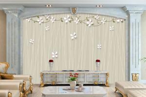 3D Süße Blütenblätter 8 Tapete Wandgemälde Tapete Tapeten Bild Familie DE Summer