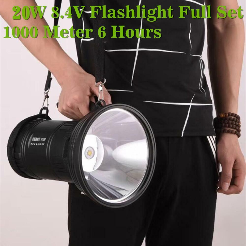 5000LM 20W 8.4V CREE MTG2 LED Rechargeable Tactical Flashlight Torch Hand Lamp