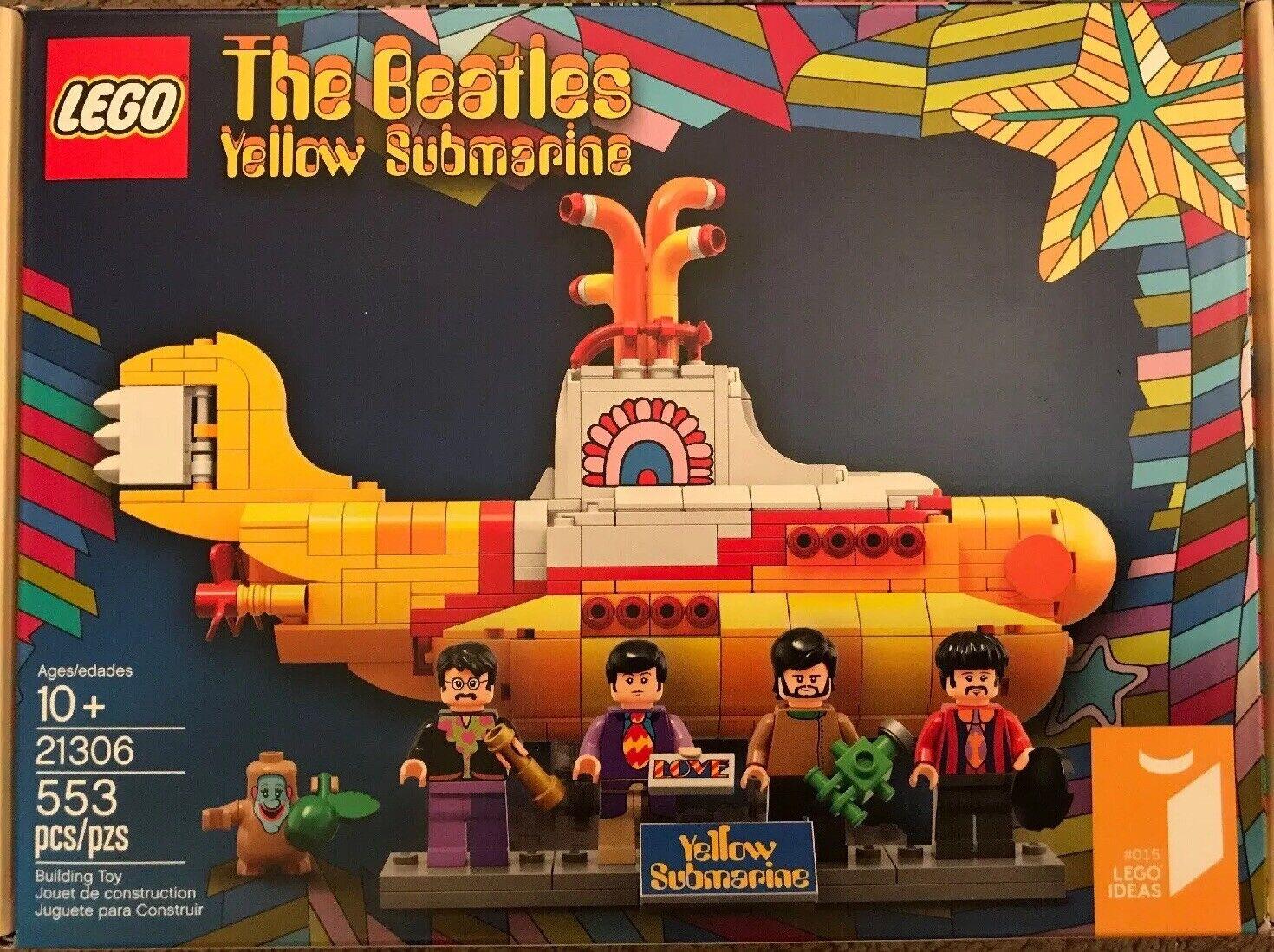il più recente LEGO Ideas THE BEATLES gituttio gituttio gituttio Submarine LEGO (21306) - BRe nuovo - OOP  consegna veloce e spedizione gratuita per tutti gli ordini