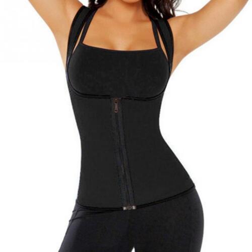 Body Shaper Women Slimming Redu Shirt Tummy Waist Vest Lose Weight Underwear UK